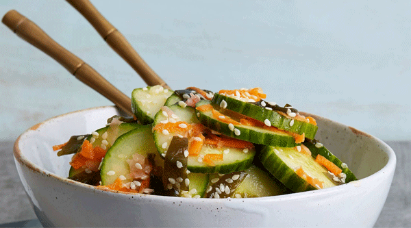 Asian Cucumber and Sea Vegetable Salad