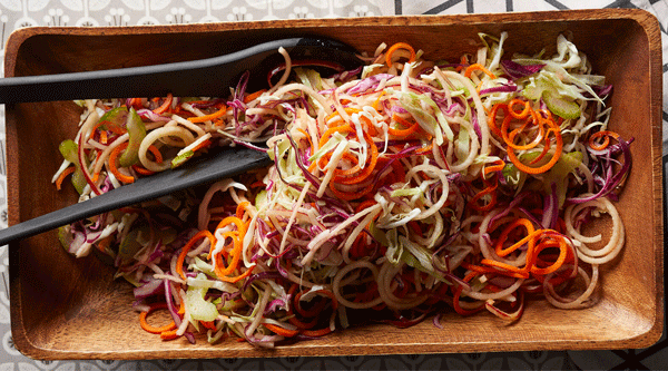 Veggie and Apple Slaw