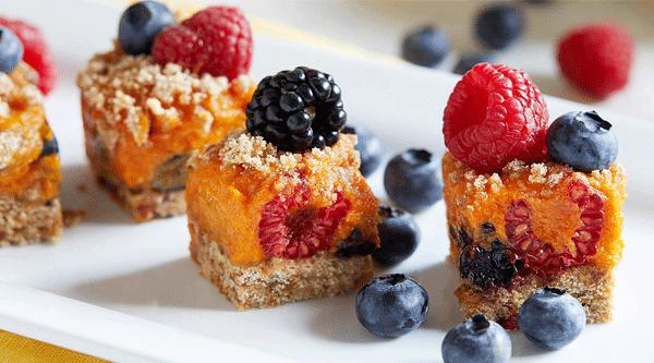 Hidden Berry Dessert Squares