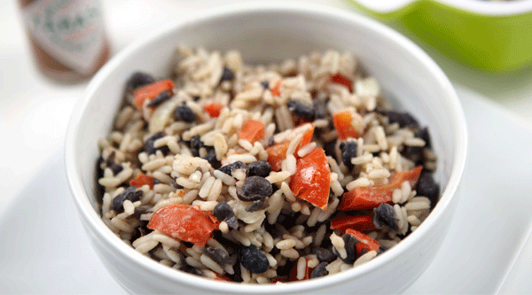 Costa Rican Rice and Beans (Gallo Pinto)