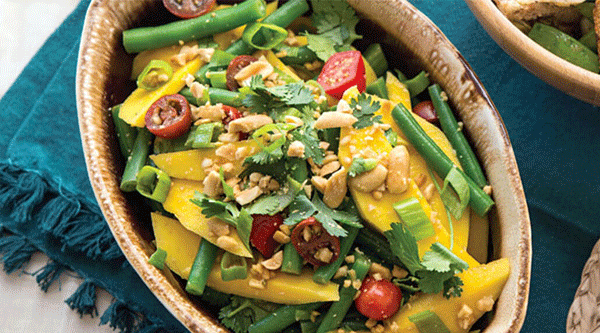 Green Bean Mango Salad