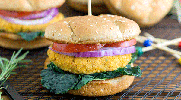 Sneaky Chickpea Burgers