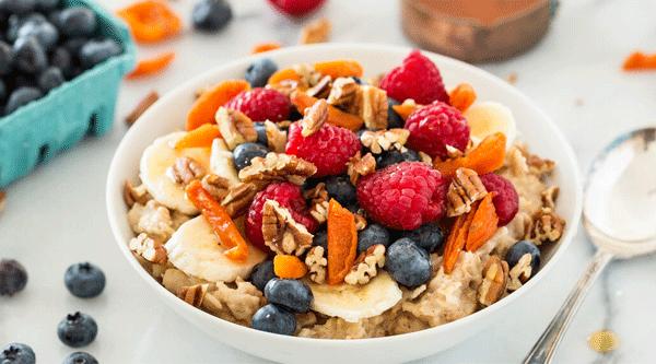 Fruit and Nut Oatmeal